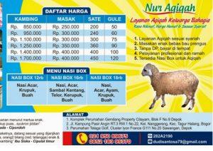 paket aqiqah beji