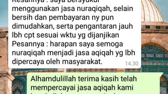 jasa aqiqah depok terbaik